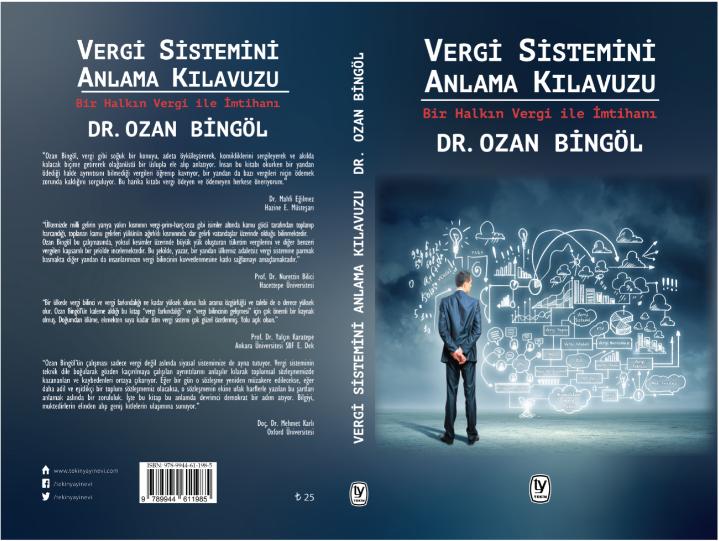Yeni Kitabım Vergi Sistemini Anlama Kılavuzu çıktı Kitapçılarda