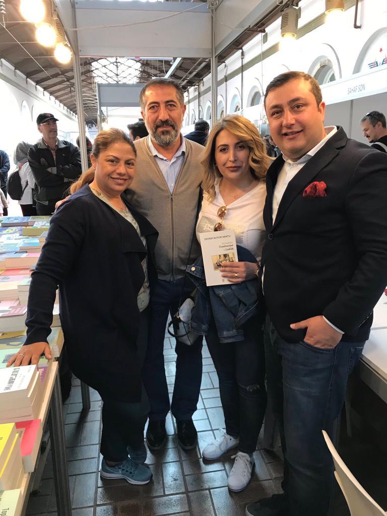İzmir Çakabey kitap günleri mart 2019 ozan bingöl 2