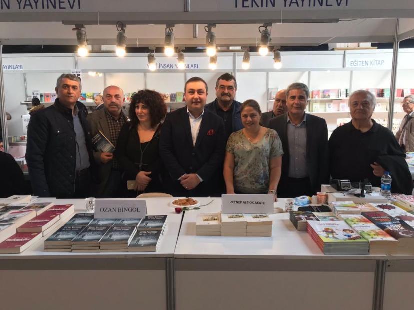 İzmir Çakabey kitap günleri mart 2019 ozan bingöl 3