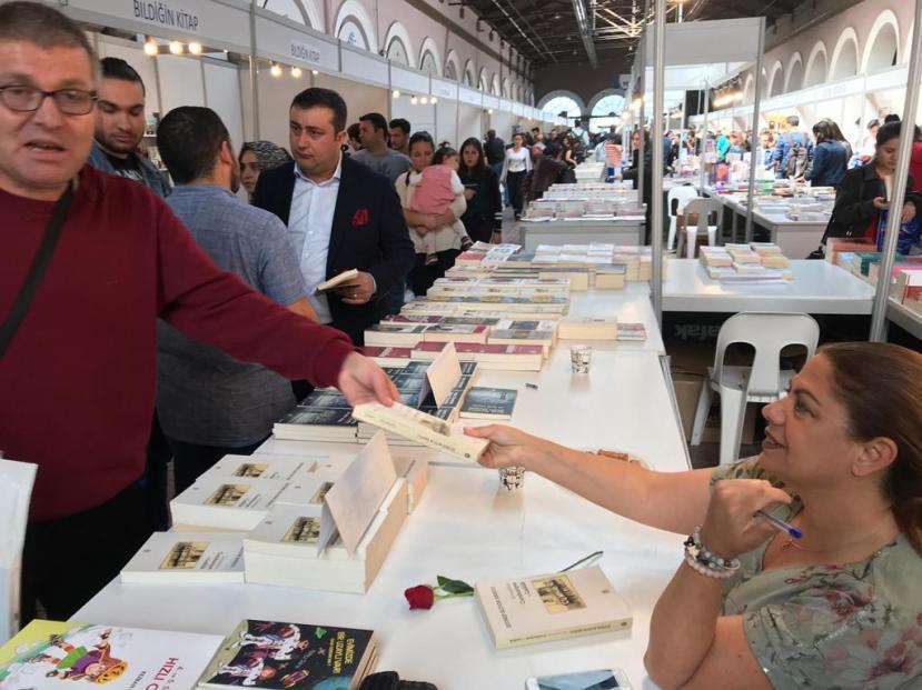 İzmir Çakabey kitap günleri mart 2019 ozan bingöl 4