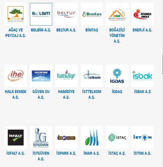 istanbul belediyesi bit ler şirketler