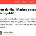 poşet ücreti 30 kuruş oldu sözcu